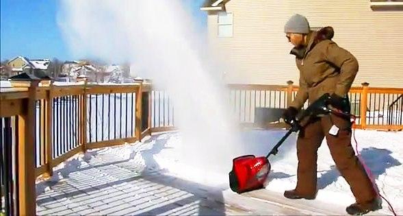 souffleuses à neiges électriques