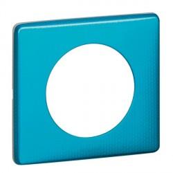Plaque Céliane Métal, finition : Blue Snake (Réf : 68771) à 8,09 € TTC sur Elecproshop